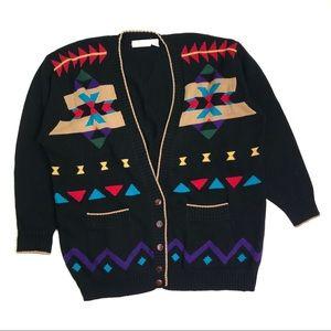 Vintage Super Dope Sweater Cardigan Oversized